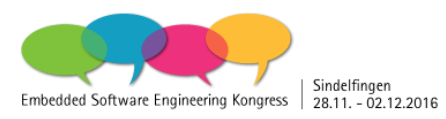 Embedded Software Engineering Kongress 2016